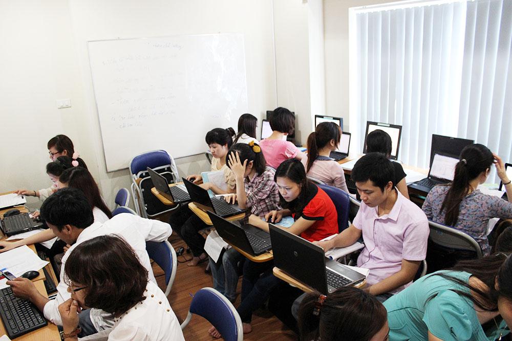 Hình ảnh: Lớp học kế toán tại Trung tâm đào tạo kế toán tại Thanh Hóa