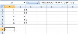 Hàm AND trong excel sử dụng trong kế toán