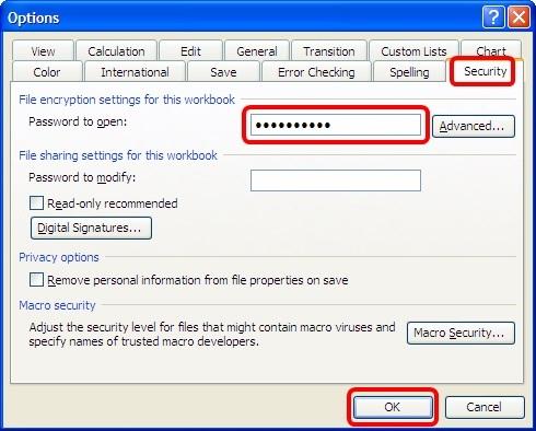 Hướng dẫn cách đặt mật khẩu cho File Excel