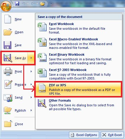 Hướng dẫn cách chuyển từ file Excel sang pdf một cách nhanh chóng