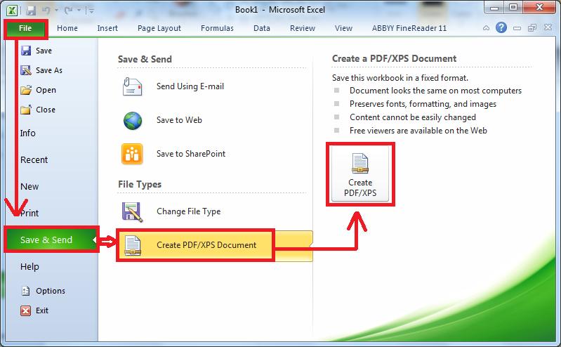 Cách lưu file PDF trong Word 2007
